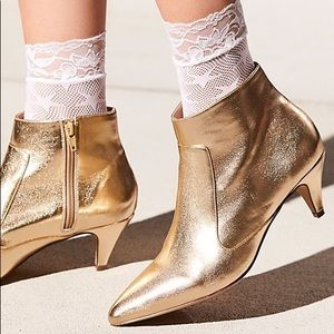 Free People count your stars net anklet socks
